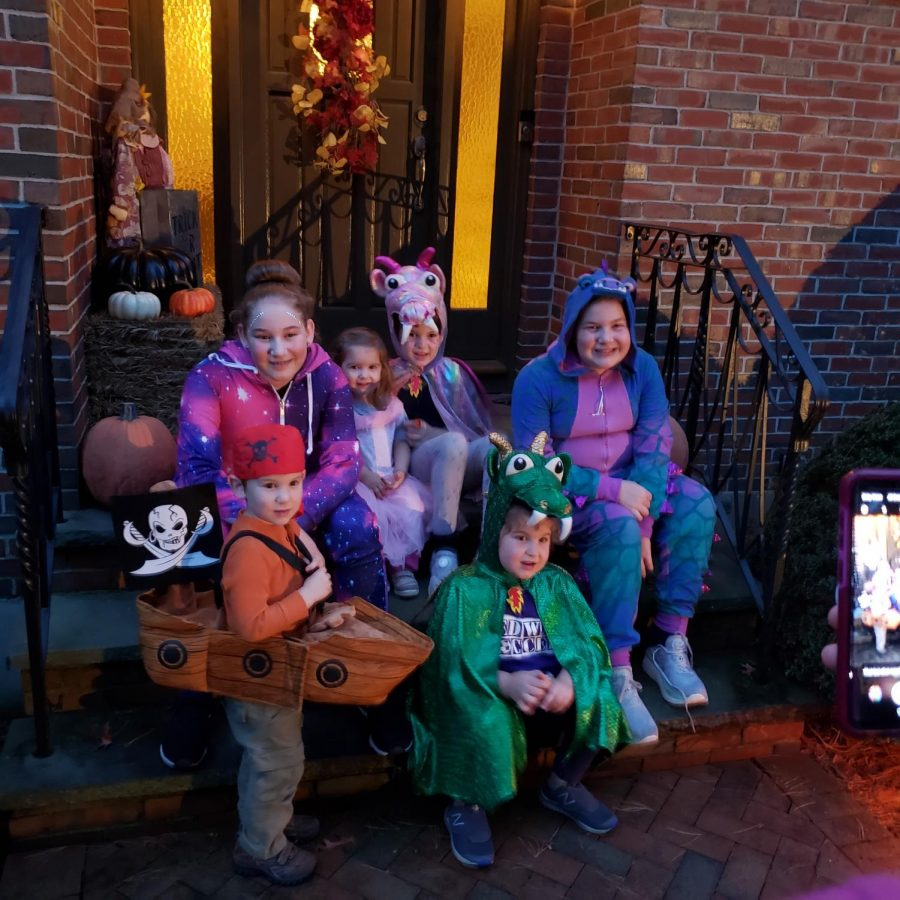 Surviving Halloween 2020 With the Littles