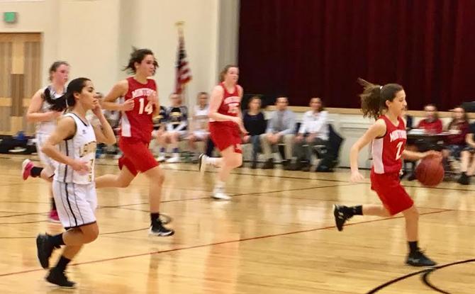 Varsity Basketball Concludes Season at Semifinals
