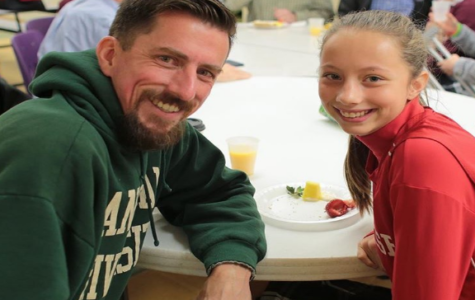 Dads and Daughters Bond at Bagel Breakfast