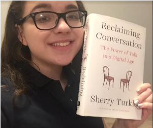 "Montrose Journalists Connect with Sherry Turkle, author of ""Reclaiming Conversation"""