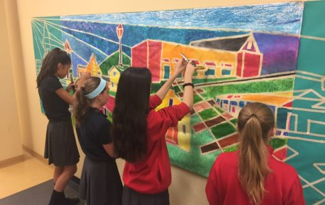 Medfield Mural: Middle School Masterpiece