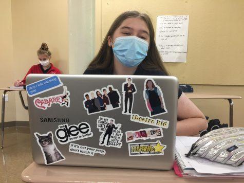 Glee superfan Lucy Stefani