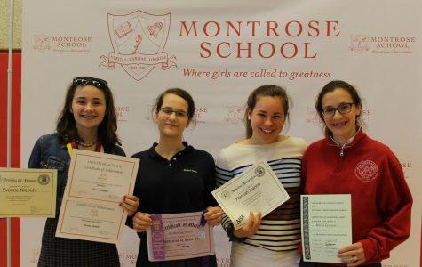 Montrosians Excel at Laureate and Achievement Award Ceremonies
