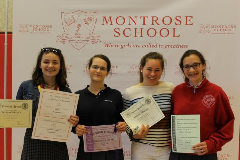 Montrosians Celebrated at Laureate and Middle School Awards
