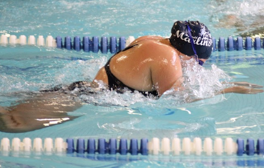 Feature: Maddie Marcucci '19 -- Swimming Success Splashes over to Academics