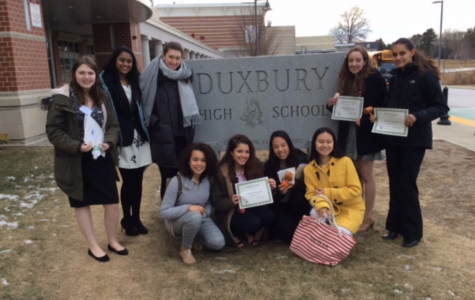 Montrose at Duxbury High Model UN Conference