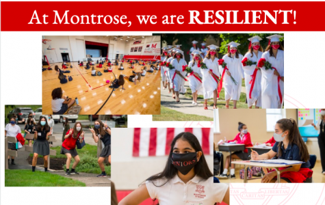 A snapshot of Montrose included in Stud Gov's Founders Day presentation last week.