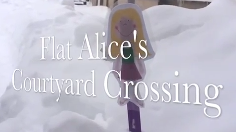 Video: Flat Alice's Polar Expedition through the Montrose Courtyard