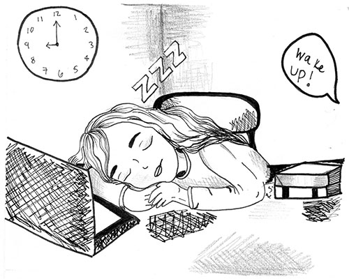 Sleep vs Homework: The Battle Continues