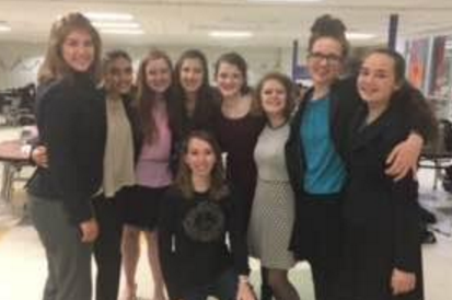 Speech Team members at States Tournament.