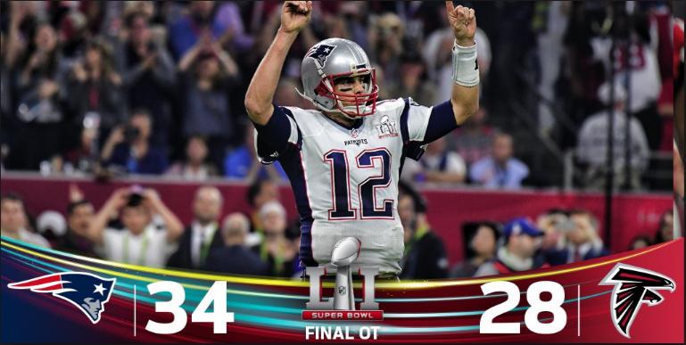 Patriots Make History: Superbowl LI