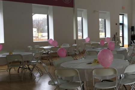 Big/Little Sister Breakfast: Big Success over Bagels and Balloons
