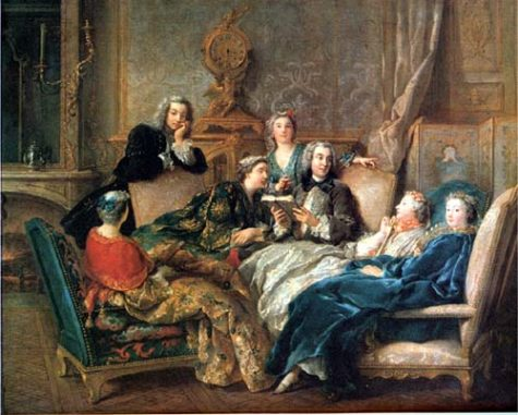 AP European History Students Recreate French Salon