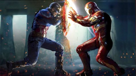 Captain America and Iron Man go head to head in Captain America: Civil War.