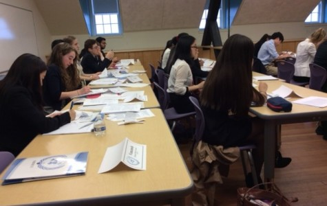Model UN Members Debate Crises at International School of Boston