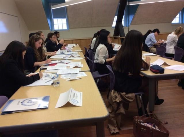 Model UN Members Debate Crises at International School of Boston