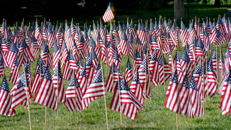 Mandatory+Credit%3A+Photo+by+Keith+Srakocic%2FAP%2FShutterstock+%2810375659b%29%0ASome+of+the+660+American+flags+on+display+are+seen+on+the+church+lawn+of+St.+Peter%27s+Reformed+Church%2C+in+Zelienople%2C+Pa.+A+church+spokesperson+said+they+put+the+flags+and+a+banner+up+on+Thursday+for+the+Labor+Day+weekend+to+illustrate+the+number+of+veterans+that+commit+suicide+a+year.+The+church+web+site+indicates+they+hold+monthly+meetings+for+an+American+Foundation+for+Suicide+Prevention+support+group%0APennsylvania+Daily+Life%2C+Zelienople%2C+USA+-+30+Aug+2019