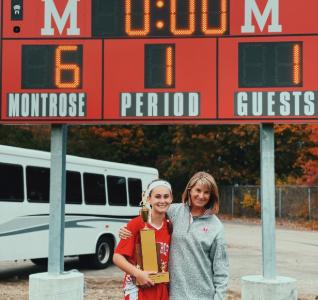 Gratitude for Coach Karen