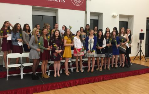 National Honor Society Induction Recap