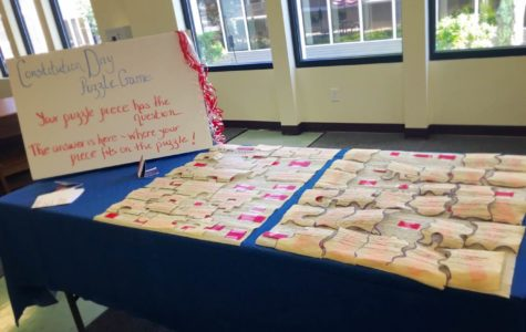 """""""We the People"""" (of Montrose School): Celebrating the Constitution"""