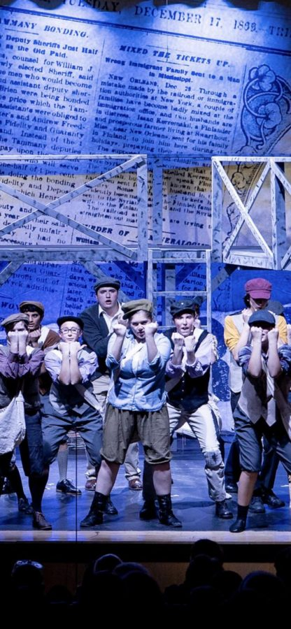 Montrose Thespians Perform at Xaverian Brothers' Newsies