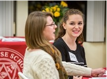 Students and Alum Connect at Professional Forum