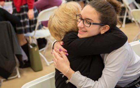 Grandparents Visit Journalism 11 on Grandparents Day