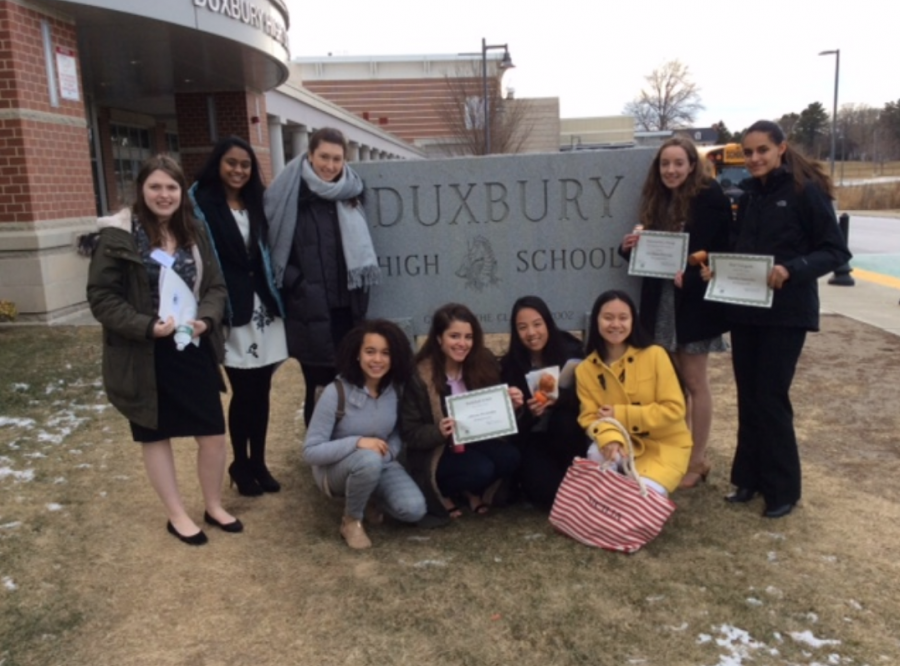 Montrose+at+Duxbury+High+Model+UN+Conference