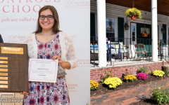 COVID restrictions have led club leader and Spirit of Service Award Winner Grace Gulbankian '21 to find new adaptions to Montrose's Thomas Upham House routine.