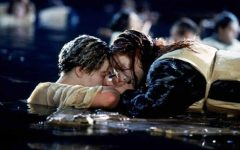 Jack and Rose in the movie Titanic.