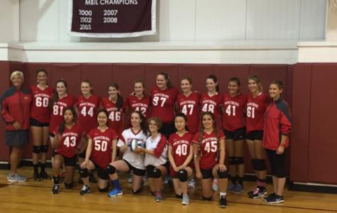 Volleyball Team Faces Gann in First Match (Ever!)