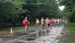 Montrose XC Run Through Rainstorm & Hingham and Come out on Top
