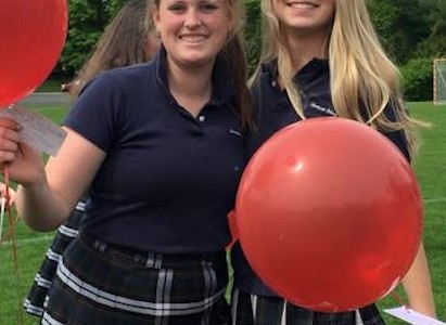 Seniors End Classes with Balloon Ceremony