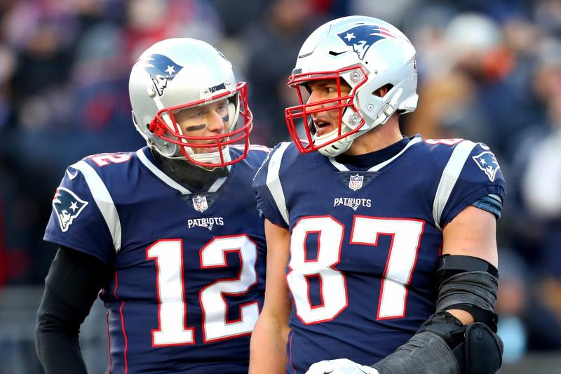 Tom Brady and Gronk Part Ways With the Patriots