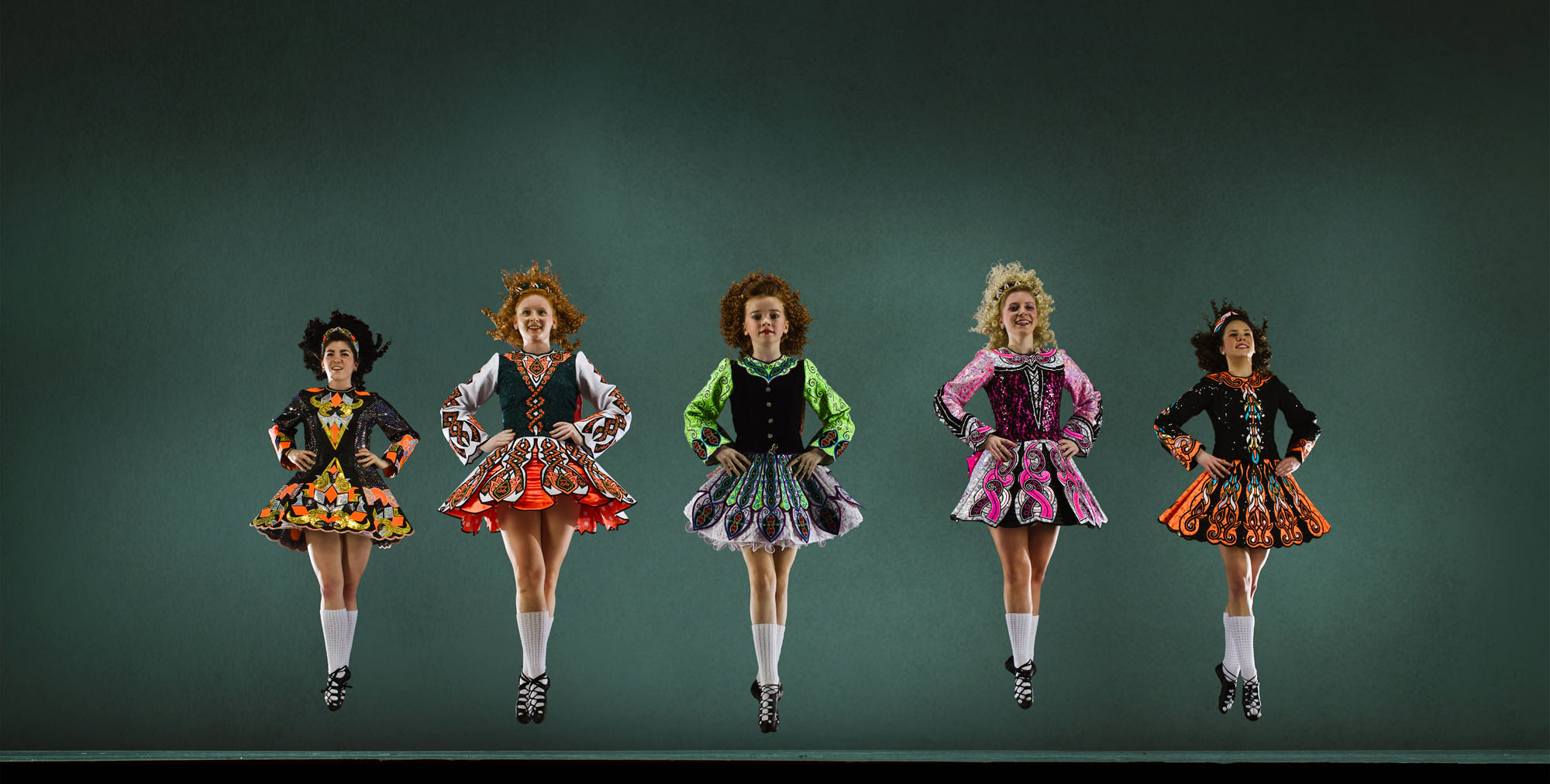 The World Of Competitive Irish Step Wigs Funny Dresses