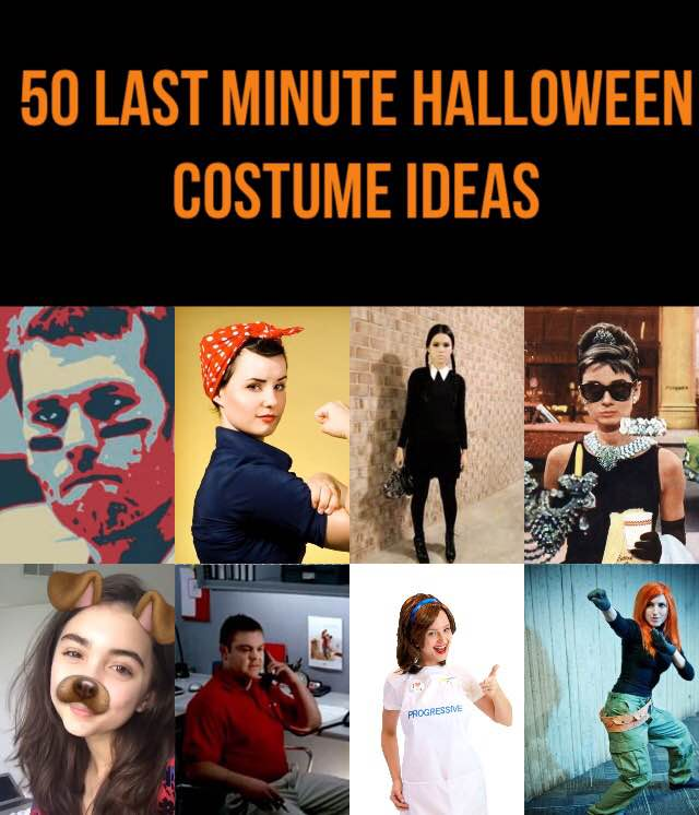 50 Last Minute Halloween Costumes From Stuff You Have At