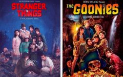 Students share their thoughts on iconic movies and TV shows such as Stranger Things and The Goonies.