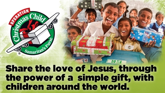 Operation Christmas Child Sweeps Montrose Again with Spirit