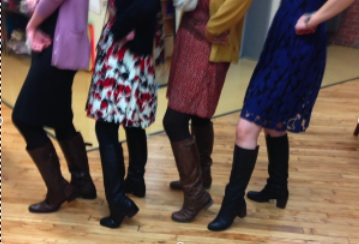 Guess the Teachers: Whose Boots?