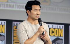 Simu Liu talking about Shang Chi at Comic Con.