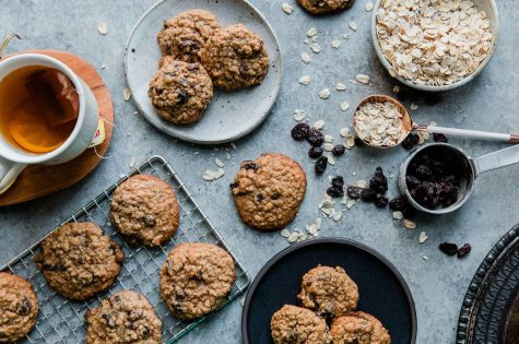 You can customize the cookies by replacing the chocolate chips with more raisins or vice versa.
